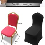 flexible spandex stretch chair cover one size fit most banquet chairs