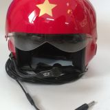 Pilot helmet Aircraft helmet Civil aviation helmet safety protection Air call helmet Multifunction radio intercom helmet/Motorcycle Accessories/Intercom System