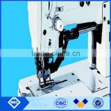 High speed lock stitch straight buttonholing industrial sewing machine