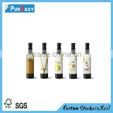 Customized plastic shampoo bottle label shampoo private label                                                                         Quality Choice