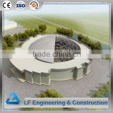 High level light steel truss function hall design