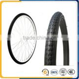 Bicycle tire and tube factory supply 20x1.75 bmx bicycle tire