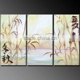 acrylic painting abstract four season hand painted wholesale canvas