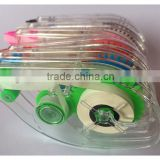 Colorful mini Correction Tape learning office supplies apply for various occasions to correct written things factory made