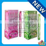 fruit loly bubble gum (apple & strawberry flavors)