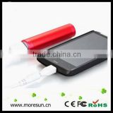 18650 external battery high quality portable 2600 mah power bank for smartphones mp3 mp4 mp5