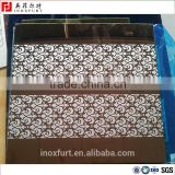 pvd coating stainless steel sheet with gold mirror etching process                                                                                                         Supplier's Choice