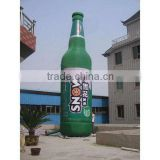 cheap inflatable beer bottle for promotion / advertising inflatable bottle / inflatable wine bottle