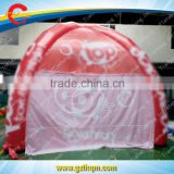 full digital printing customized inflatable advertising spider tent for promotion, outdoor inflatable promotion tent