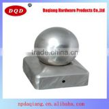 121x121mm Orbicular Shape Aluminum Fence Post Cap with Daqiang Supply