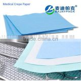 Printed protective disposable medical Sterilization crepe paper