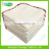 2014 New Reusable Bamboo Baby Wipe Soft Velour Baby Cloth Wipes