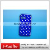 Jewelry blue river back cover cases for samsung S5360