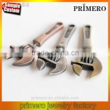 3D Tool Wrench Puncture Shaped Alloy Earrings Piercing Jewelry