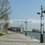 Factory supply high quality 5 years warranty 60W integrated wind solar hybrid street light