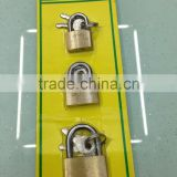 brass color blister card packing cheap padlock