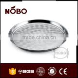 stainless steel grape plate cheap plate chinese dinner plate