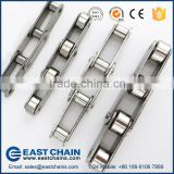 ANSI Standard double pitch 31.75mm 304 stainless steel conveyor chain C2050 with small roller                                                                         Quality Choice