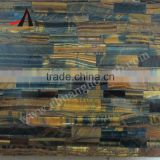 Yellow and blue tiger eye slab for wall tile,flooring tiel,bathroom tile