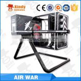 amusement park equipment flight simulator for sale fly simulator car driving simulator with 3 screens                                                                                                         Supplier's Choice