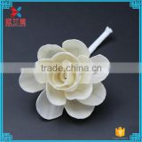 Wholesale new design with high quality Dried sola wood rose flower