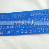 Factory Plastic Letter Stencil Ruler OEM and ODM office stationery for school right angle ruler