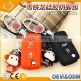 3 Button With Keychain Remote Car Key Shell Flip for Citroen Xsara C4 C5 C6 C8 Light Symbol Groove