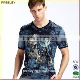 2016 high quality quick dry anti shrink anti pilling breathable skin tight fitness cool max Men's tee shirt