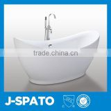 2016 Hangzhou China Sanitary Ware Manufactuer Clear Acrylic Cheap Freestanding Bath tub In Alibaba China