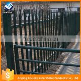 iron wire mesh fence base and gate