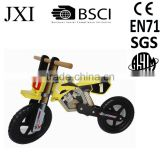 Ander 1255 metal wooden aluminum safe light child balance bike for 3 to 6 years old kid children