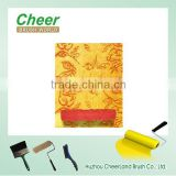 paint rollers with designs, designer paint rollers/ wallpaper paint roller/ paint roller textured roller