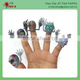 PVC material monster head finger puppet toy for kids                                                                         Quality Choice