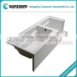 North American cUPC certified plastic bathtub, tub shower combo,corner bath shower combo