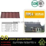 factory hot selling high quality living house colorful stone roof tile with chinese antique style building