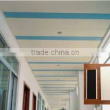 Decorative Metal Ceiling Suspended Ceiling Plain and Perforated Aluminum C -Shaped Strip Ceiling Panel