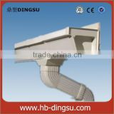 Hot sale Y pipe channel for pvc rain gutter/plastic channel underground drainage system