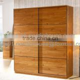 China custom made cheap closet organizers,wooden bedroom wardrobe designs Wood grain melamine wooden wardrobe use to bedroom                                                                         Quality Choice