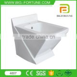 Floor Standing Ceramic WC Toilet apartment toilet bidet