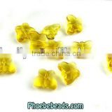 Wholesale Colorful Transparent Butterfly Marguerite Beads For Clothes PMC-CB004