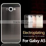 Hot selling design cell phone cases, Electroplating case for samsung galaxy a5 2016 back cover                                                                         Quality Choice
