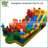 spiderman inflatable amusement park playground for kids ,inflatable playground rentals