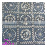 Factory made Dubai French Lace Mesh Style polyester bridal lace fabric wholesale                                                                                                         Supplier's Choice