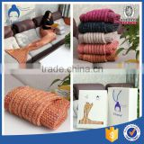 Eco-friendly acrylic mermaid blanket Mermaid Tail Blanket adult wholesales of audlt mermaid blanket