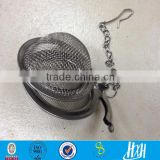 Stainless Steel Mesh Tea Strainers/stainless steel Mesh tea ball style tea strainer(factory price)