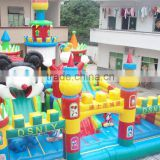 2015 funny game new dragon inflatable amusement park,amusement park inflatable slide big,new inflatable amusement park