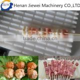 Low price doner kebab making machine / automatic meat skewers machine /doner kebab wear string machine