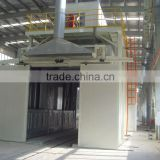 Water curtain spray booth, spray booths, painting room