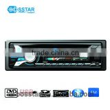 Auto unfolding detachable panel car radio cd DVD player with MP3 MP4 USB compatible player