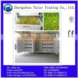Two cabinets grass sprout growing machine with 12 months warrany